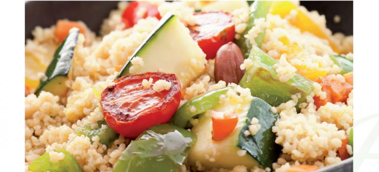 Cous-Cous con verduras.